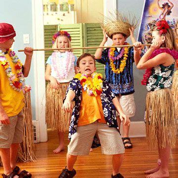hawaiian themed party games kids parties throw a hawaiian luau birthday party