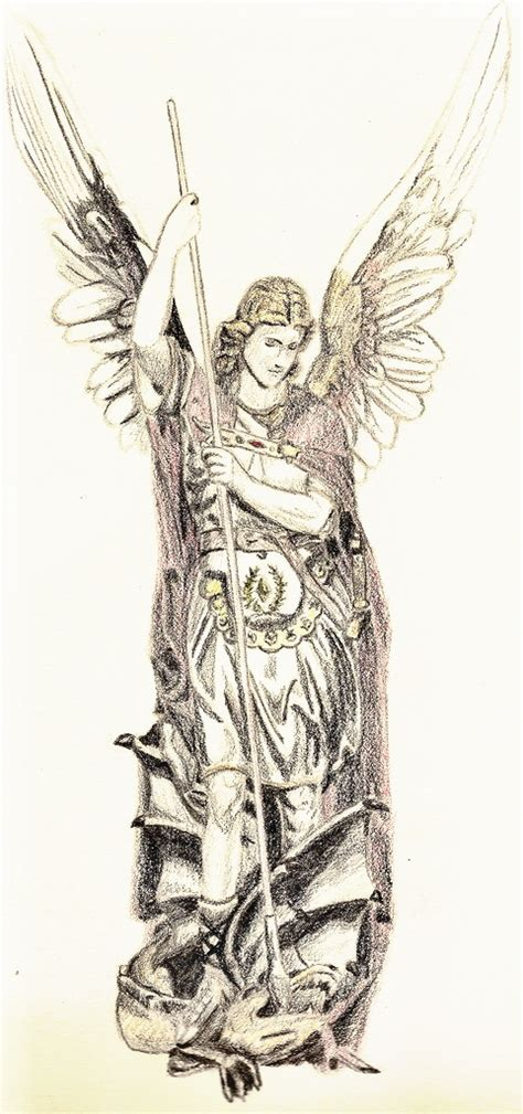 st michael the archangel by fanking on deviantart