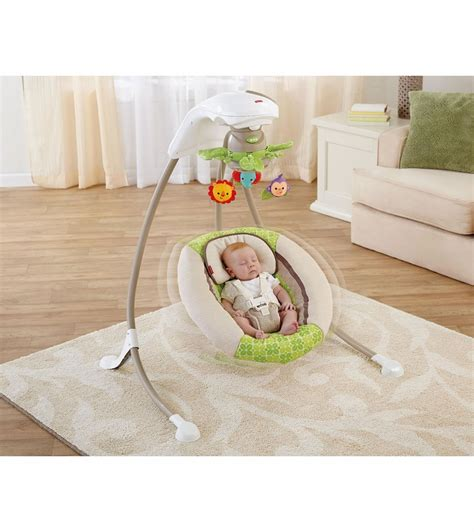 fisher price rainforest cradle swing fisher price rainforest friends deluxe cradle n swing