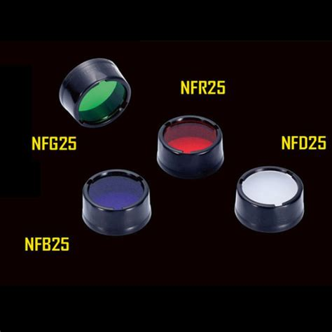 Nitecore Beam Colour Filter For Flashlights 25mm Nfg25 buy nitecore nfr25 nfb25 nfg25 nfd25 diameter 25mm multicolour filter bazaargadgets