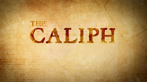 the caliphate the caliph
