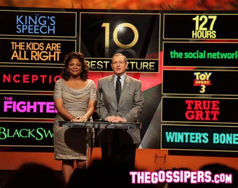 best film oscar in 2011 le nomination per i premi oscar 2011 gossip