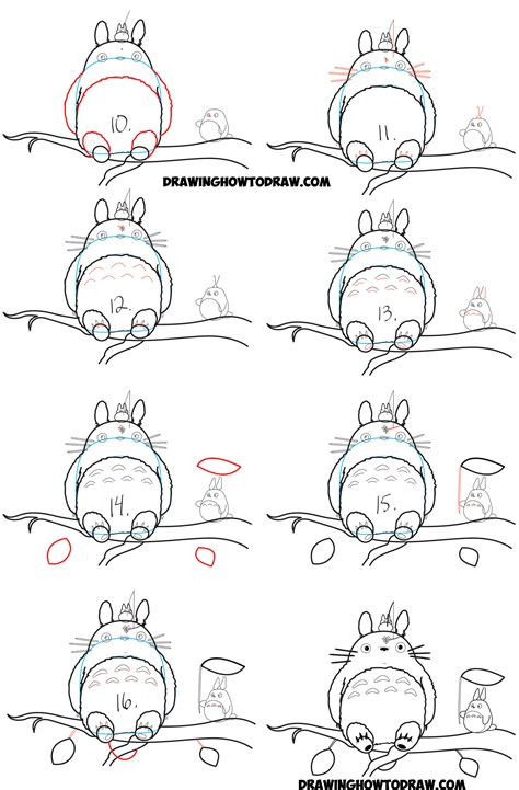 doodle drawing lessons how to draw totoro from my totoro easy step by