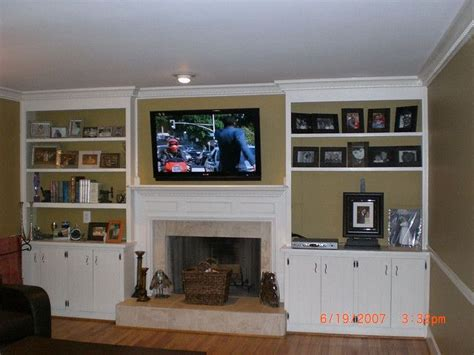 tv over fireplace and media storage great room 17 best images about great room remodel on pinterest