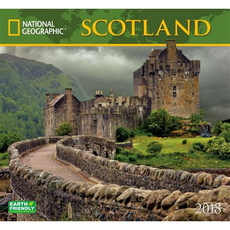 Calendar 2018 National Geographic National Geographic Scotland Wall Calendar 2018 Zebra
