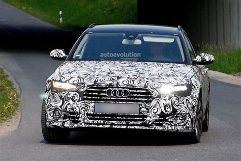 nuova time all new led headlights for audi a6 facelift seen for the