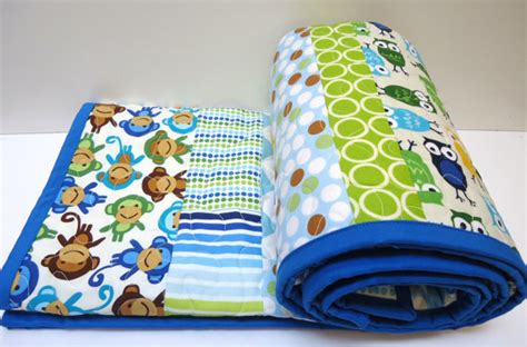 Toddler Bed Quilts Boy by Toddler Bedding Baby Quilt Baby Boy Quilt Chevron Owl