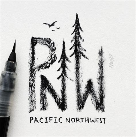 pacific northwest design 71 best oregon tattoo images on pinterest