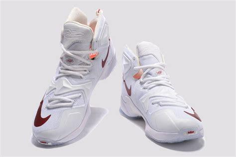 lebron basketball shoes for sale 2015 nike lebron 13 white wine s basketball shoes for