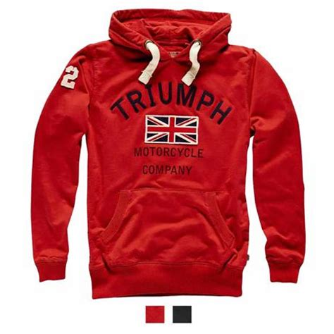 Hoodie Triumph Motorcycles Lp great britain map t shirt for triumph motorcycles