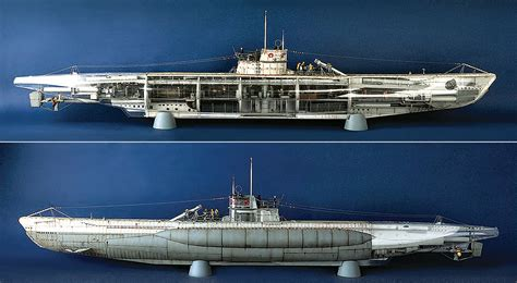 u boat kit dkm u boat type viic u 552 1 48 kit military issue