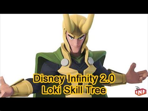 level loki character skill tree disney infinity