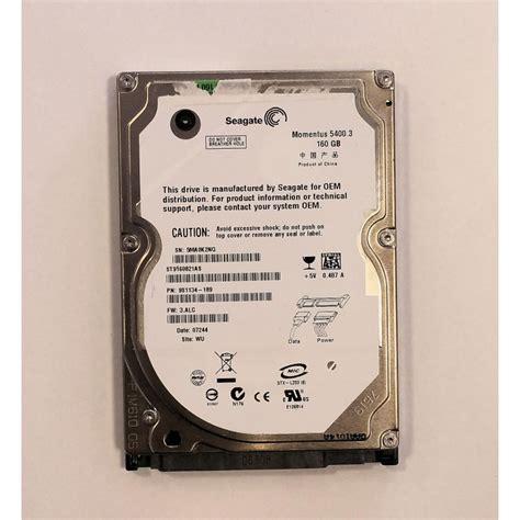 Harddisk 160gb 160gb sata seagate st9160821as momentus 5400 3 festplatte