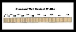 Kitchen Wall Cabinet Sizes Click To View Size Image