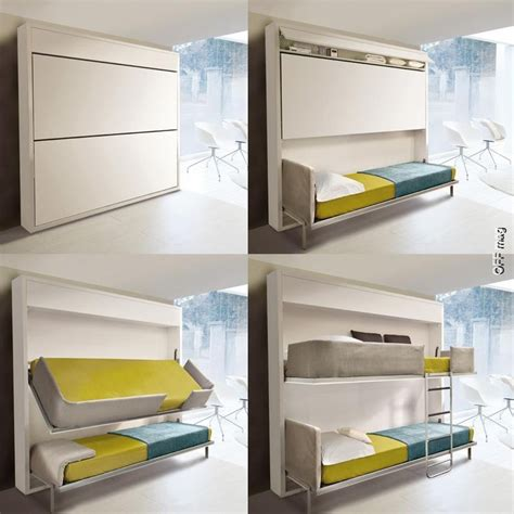 space saving bunk beds pin by lisa davis on cing pinterest