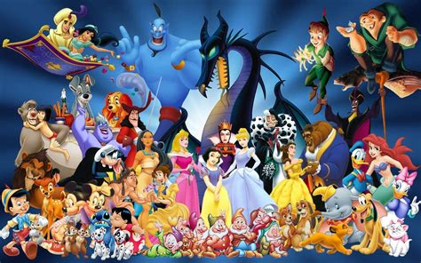 Disney Characters Wallpapers Wallpaper Cave | disney character wallpapers wallpaper cave