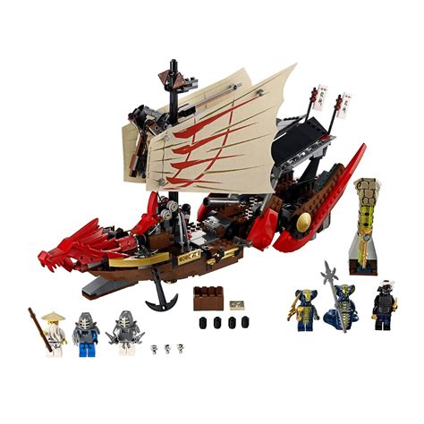 lego ninjago boat lego ninjago destiny s bounty 9446