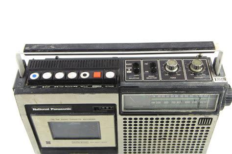 radio cassette recorder vintage national panasonic rq 542s fm am radio cassette