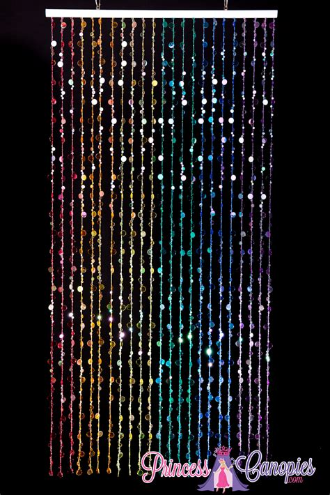 a beaded curtain beaded curtains bubbles rainbow mtv trl summer sizzle