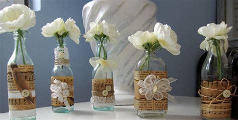 decorar botellas y tarros de cristal 12 ideas para decorar botellas de cristal pisos al d 237 a