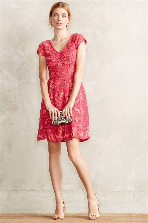 8 Pretty Anthropologie Dresses by Motif Lace Dress Wedding Guest Dress