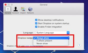 Dropbox Turn On Document In Setting | how to turn off the new dropbox notification that i m