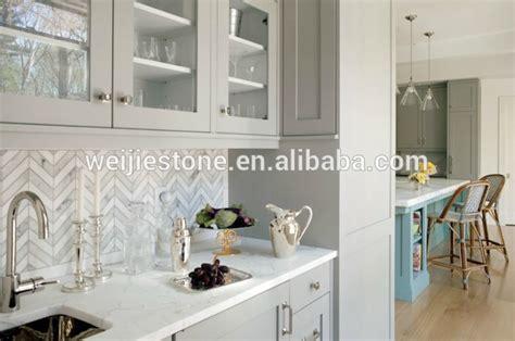 backsplash patterns for the kitchen bianco carrara white marble herringbone tile pattern for