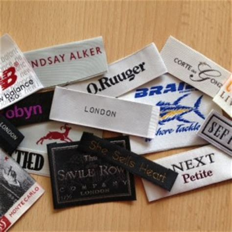 label design company uk customized woven garment labels uk supplier
