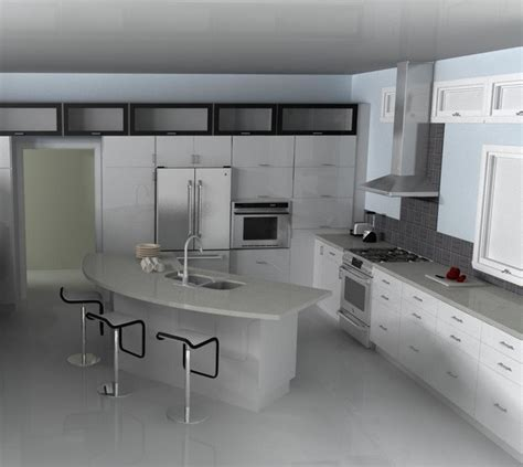 Modern Ikea Kitchen Ideas Modern Ikea Kitchen Abstrakt White Modern Kitchen Other By Ikd Inspired Kitchen Design
