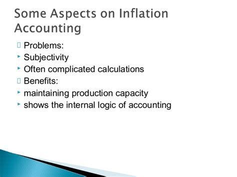 Mba Accounting Definition by Inflation Accounting Unitedworld School Of Business