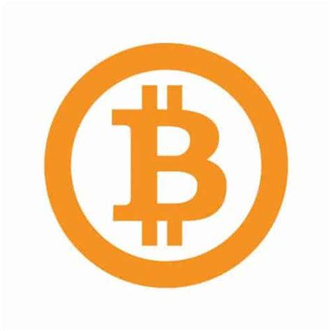 bitcoin symbol bitcoin symbol orange simple ring round sticker 80mm