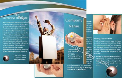 Brochure Templates For Word 2010 – 7  Microsoft Brochure Templates   Download Free Documents