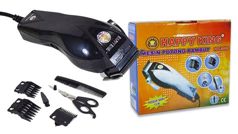 Happy King Mesin Potong Rambut Alat Cukur Mesin Cukur Rambut 1 buy alat pencukur rambut elektrik hair clipper 3 custom model deals for only rp 52 000 instead