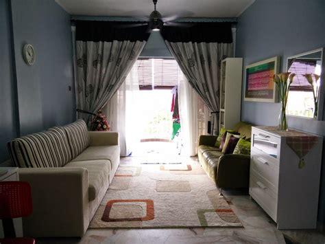 Harga Gambar Makeover dekorasi ruang tamu rumah flat ppr desain rumah