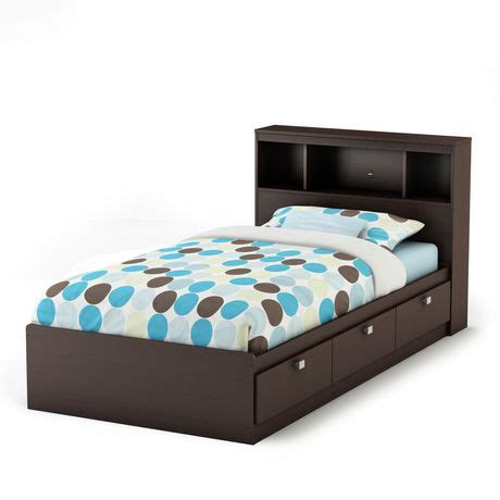 south shore spark full storage bed and bookcase headboard south shore spark twin storage bed and bookcase headboard