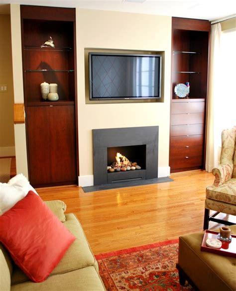 Contemporary Living Room Built Ins Fireplace Custom Built Ins Contemporary Living Room