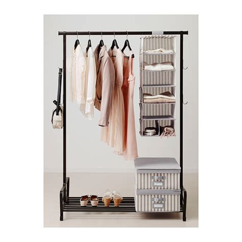 ikea hanging storage svira hanging storage with 7 compartments grey white