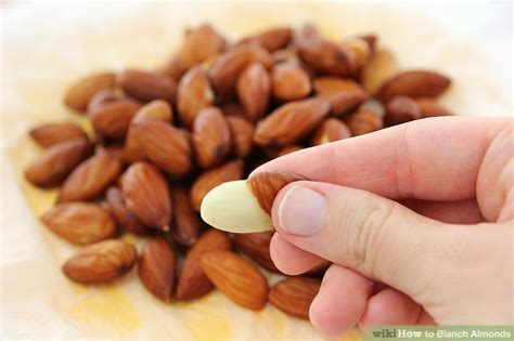 how to blanch almonds 8 steps with pictures wikihow