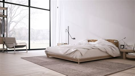 minimalistisches schlafzimmer inspiring minimalist interiors with low profile furniture