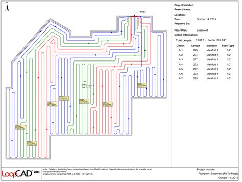 floor layout design exle layout design portfolio radiant floor heating