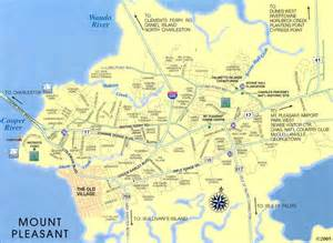 mt pleasant map mount pleasant sc real estate map