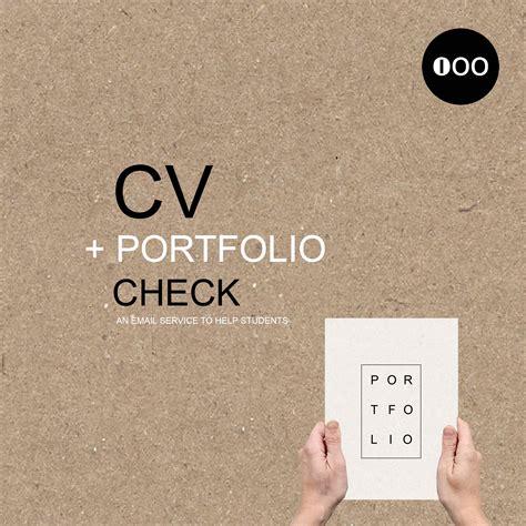 cv portfolio architecture