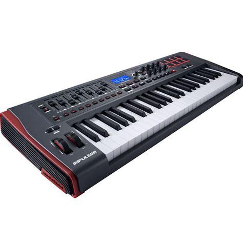 Keyboard Controller novation impulse 49 midi keyboard controller the disc dj store