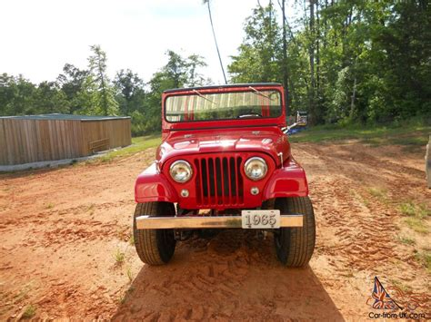 1965 Jeep Cj5 1965 Jeep Cj5 Base 2 2l