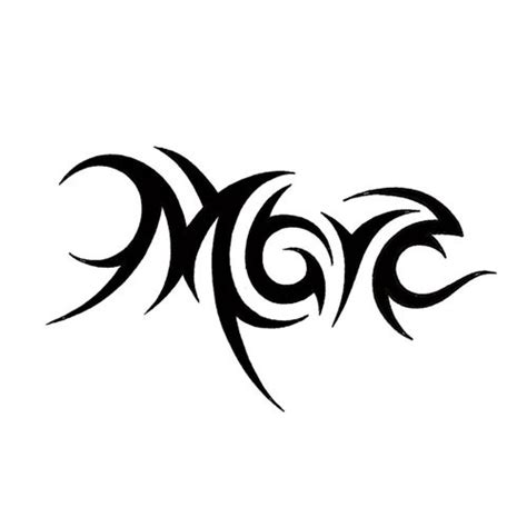 m tattoo the letter m designs letters font