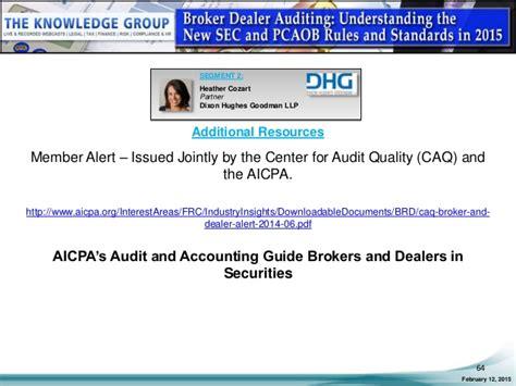 broker dealer exemption report template broker dealer auditing understanding the new sec and