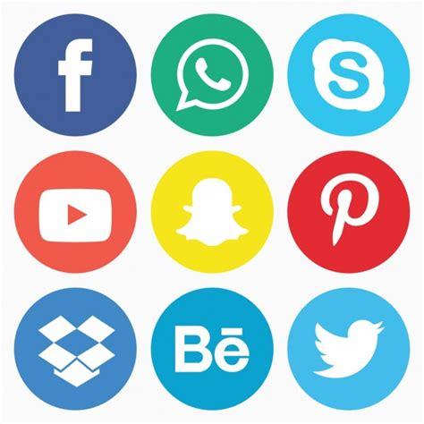 imagenes de redes sociales gratis pack de iconos de redes sociales descargar vectores gratis