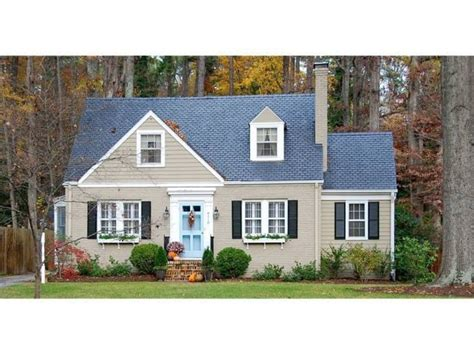 Turquoise Exterior House Paint - tan taupe house black shutters blue door house do over pinterest black shutters