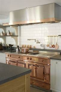 Copper Kitchen Appliances Decorating With Warm Metallics Copper Bronze Amp Gold