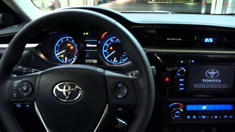2014 Toyota Corolla S Manual 2014 Toyota Corolla S 6 Speed Manual Transmission Start Up